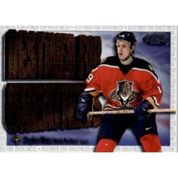 2002-03 Exclusive  Destined for Greatness c. 08 Stephen Weiss FLO