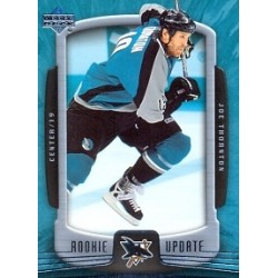 2005-06 Upper Deck Rookie Update c. 081 Thornton Joe SJS