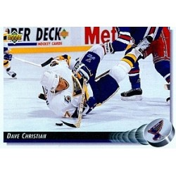 1992-93 Upper Deck c. 194 Christian Dave STL
