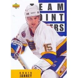 1993-94 Upper Deck c. 303 Janney Craig STL