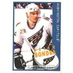 1997-98 Panini Stickers c. 109 Peter Bondra  WSH