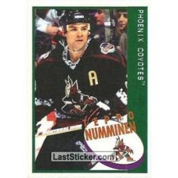 1997-98 Panini Stickers c. 156 Teppo Numminen  PHX
