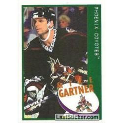 1997-98 Panini Stickers c. 158 Mike Gartner  PHX