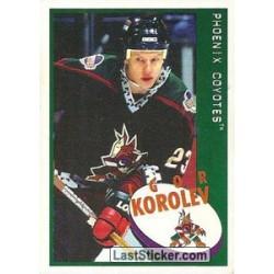1997-98 Panini Stickers c. 159 Igor Korolev  PHX