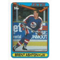 1990-91 Topps c. 024 Brent Ashton WIN