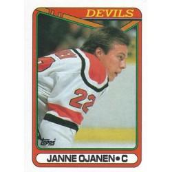 1990-91 Topps c. 030 Janne Ojanen NJD