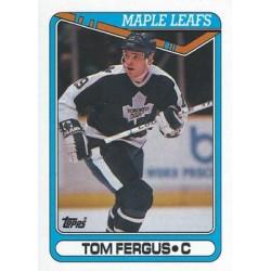 1990-91 Topps c. 063 Tom Fergus TOR