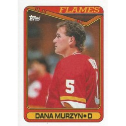 1990-91 Topps c. 304 Dana Murzyn CGY
