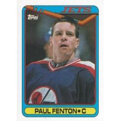 1990-91 Topps c. 313 Paul Fenton WIN