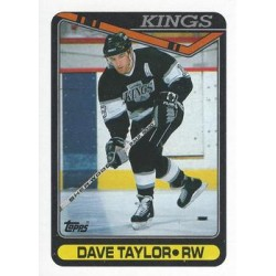 1990-91 Topps c. 314 Dave Taylor LAK