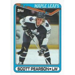 1990-91 Topps c. 356 Scott Pearson TOR