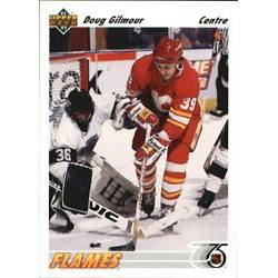 1991-92 Upper Deck Variations - Hologram text French c. 188 Doug Gilmour CGY