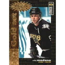 1995-96 Collectors Choice Crash the Game Gold c. C16 Mike Modano DAL