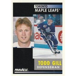 1991-92 Pinnacle c. 278 Todd Gill TOR