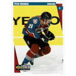 1997-98 Collectors Choice c. 054 Peter Forsberg COL