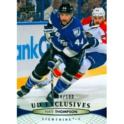 2011-12 Upper Deck Exclusives Thompson Nate 004 / 100c. 284 TBL