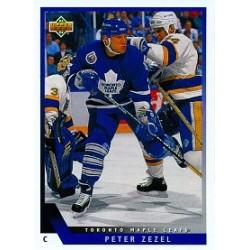 1993-94 Upper Deck c. 199 Zezel Peter TOR