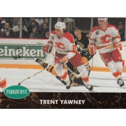 1991-92 Parkhurst c. 245 Trent Yawney CGY