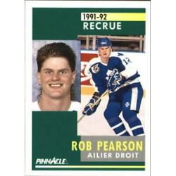 1991-92 Pinnacle French Rookie c. 304 Rob Pearson TOR