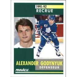 1991-92 Pinnacle French Rookie c. 318 Alexander Godynyuk TOR