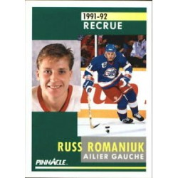 1991-92 Pinnacle French Rookie c. 324 Russ Romaniuk WIN