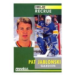 1991-92 Pinnacle French Rookie c. 331 Pat Jablonski STL