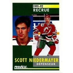 1991-92 Pinnacle French Rookie c. 349 Scott Niedermayer NJD
