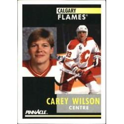 1991-92 Pinnacle French c. 364 Carey Wilson CGY