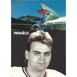 1991-92 Pinnacle French Sidelines c. 409 Garth Butcher STL