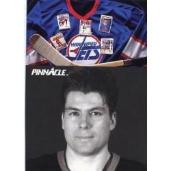 1991-92 Pinnacle French Sidelines c. 416 Pat Elynuik WIN