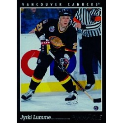 1993-94 Pinnacle Canadian c. 021 Lumme Jyrki VAN