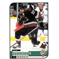 1998-99 UD Choice c. 157 Teppo Numminen PHX