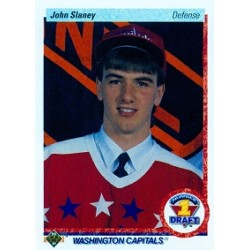1990-91 Upper Deck c. 360 Slaney John WSH