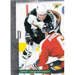 1996-97 Leaf Preferred Rookie c. 144 Jamie Langenbrunner DAL
