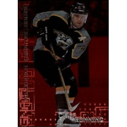 1999-00 Be a Player Millennium Ruby /1000 c. 137 Cliff Ronning NAS