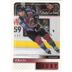 1999-00 MVP SC Edition c. 053 Chris Drury COL