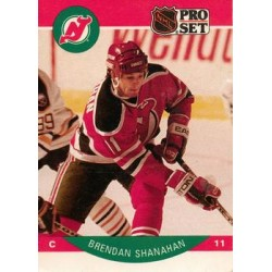 1990-91 Pro Set c. 174 Brendan Shanahan NJD