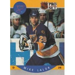1990-91 Pro Set c. 264 Mike Lalor STL
