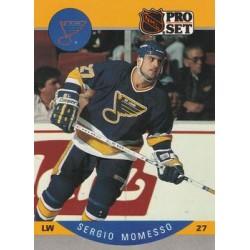 1990-91 Pro Set c. 268 Sergio Momesso STL