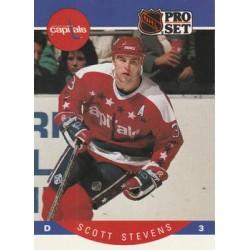 1990-91 Pro Set c. 321 Scott Stevens WSH
