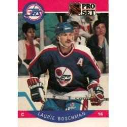 1990-91 Pro Set c. 324 Laurie Boschman WIN