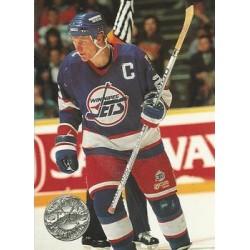 1991-92 Pro Set Platinum c. 138 Thomas Steen WIN