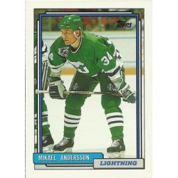 1992-93 Topps c. 151 Mikael Andersson TBL