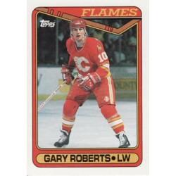 1990-91 Topps c. 161 Gary Roberts CGY