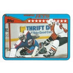 1990-91 Topps c. 180 Team Card Winnipeg WIN
