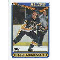1990-91 Topps c. 244 Sergio Momesso STL