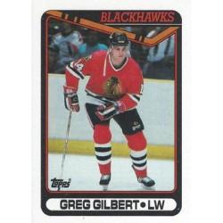 1990-91 Topps c. 255 Greg Gilbert CHI