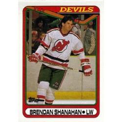 1990-91 Topps c. 259 Brendan Shanahan NJD