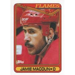 1990-91 Topps c. 265 Jamie Macoun CGY