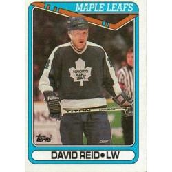 1990-91 Topps c. 290 Dave Reid TOR